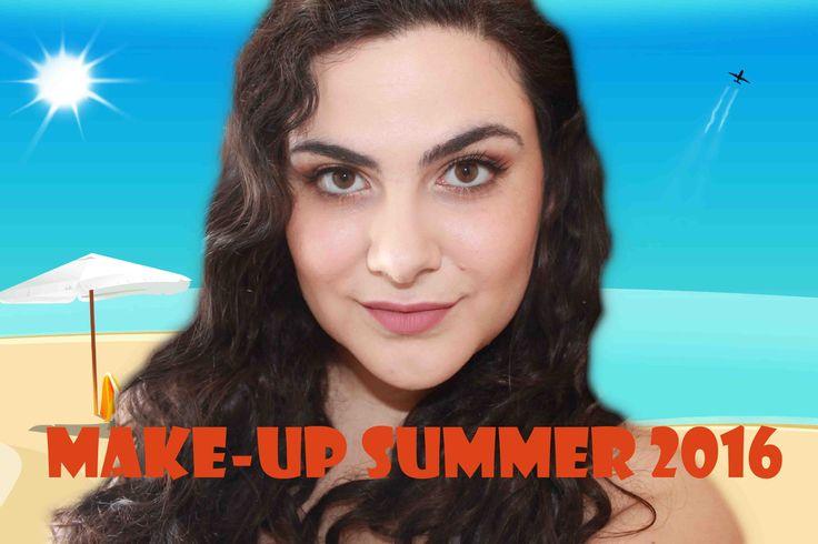 Make up estivo da giorno realizzato con la semi-sweet chocolate bar e gi...