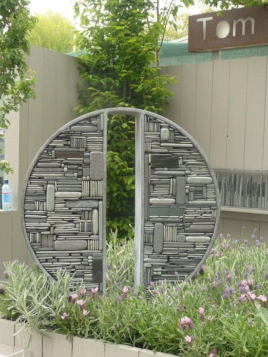 stone mosaic sculpture