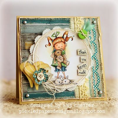 This is adorable.....love Amy Sheffer's work...always worth a look on her blog...