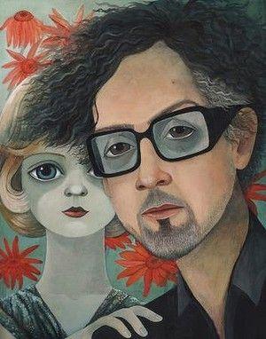 Sonia Kretschmar on the influence of the famous artist Magaret Keane #TimBurton #BigEyes