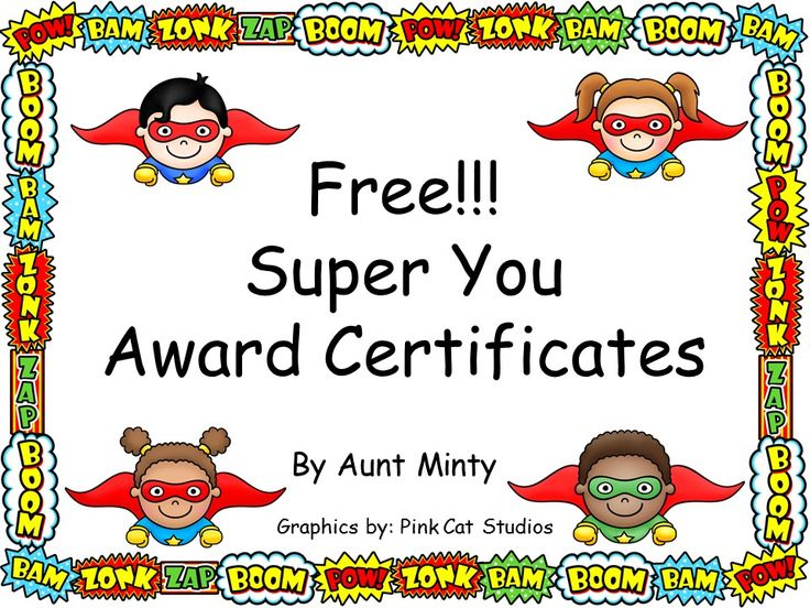 Best 20+ Award Certificates Ideas On Pinterest | Student Awards, Kids  Awards And Free Certificate Templates