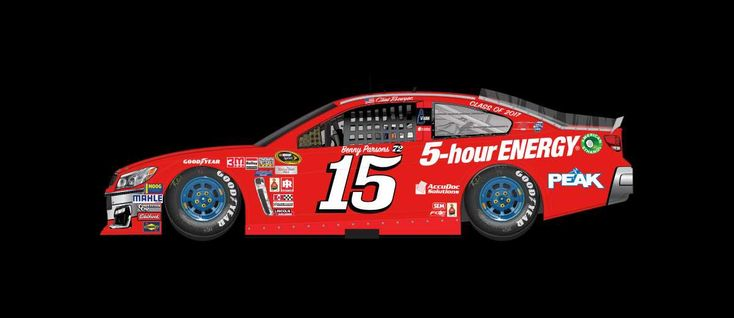 2016 Darlington throwback paint schemes | Clint Bowyer No. 15 HScott Motorsports Chevrolet