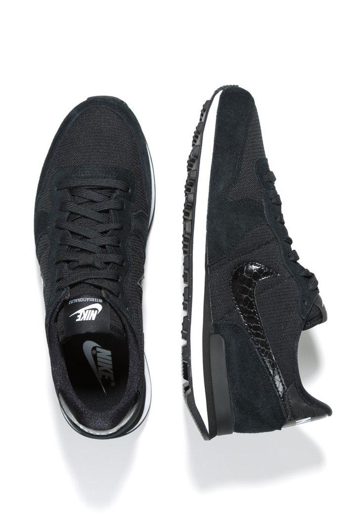 Nike Sportswear INTERNATIONALIST - Sneakers laag - Zwart - Zalando.nl