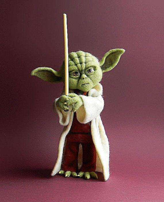 Meister Yoda filzen