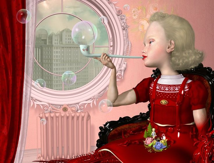 """Bubbles"" by Ray Caesar (2009)"