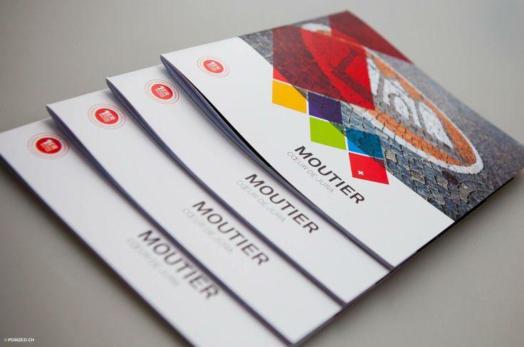 Brochure promotionnelle pour la ville de Moutier