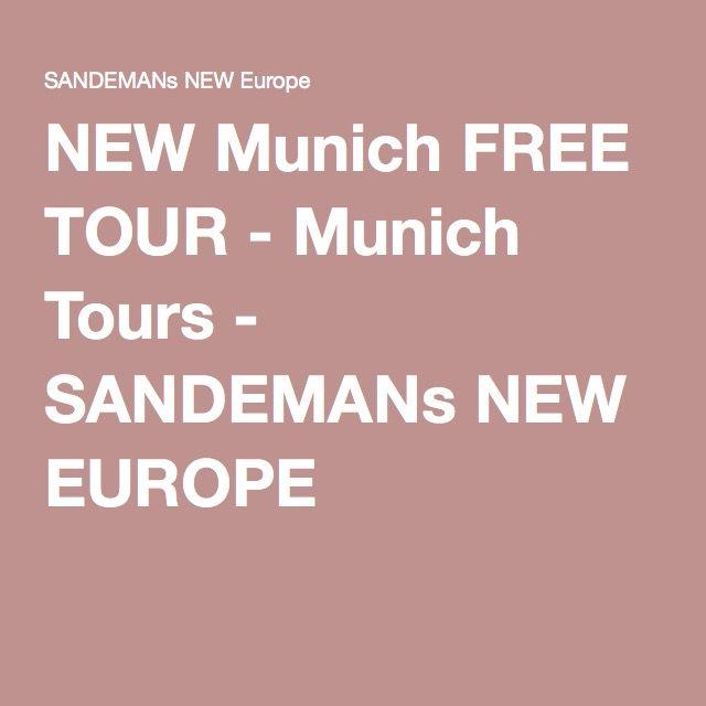 NEW Munich FREE TOUR - Munich Tours - SANDEMANs NEW EUROPE