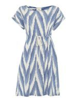 I love this Linea Weekend by @House of Fraser  dress - I'd probably buy it a size or two bigger and wear as a kaftan on the beach over my bikini... Bang on trend with the ikat design. #houseoffraser