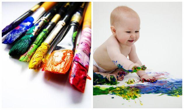 Recette de la peinture bébé (comestible)