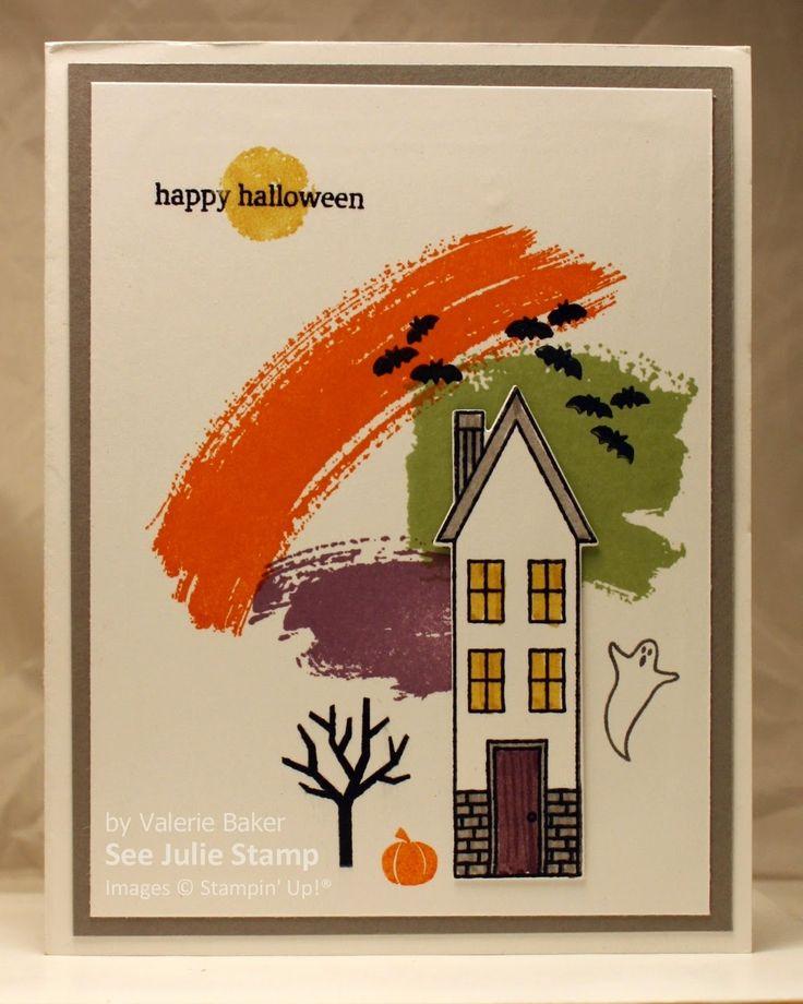 See Julie Stamp - Julie Wadlinger, Stampin' Up! Demonstrator : Swap: Cards in the Mail - Holiday Home