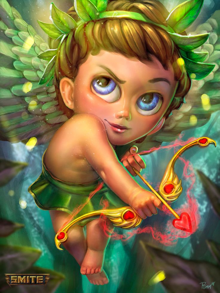 Cupid Wood Nymph Smite Skin by PTimm on DeviantArt