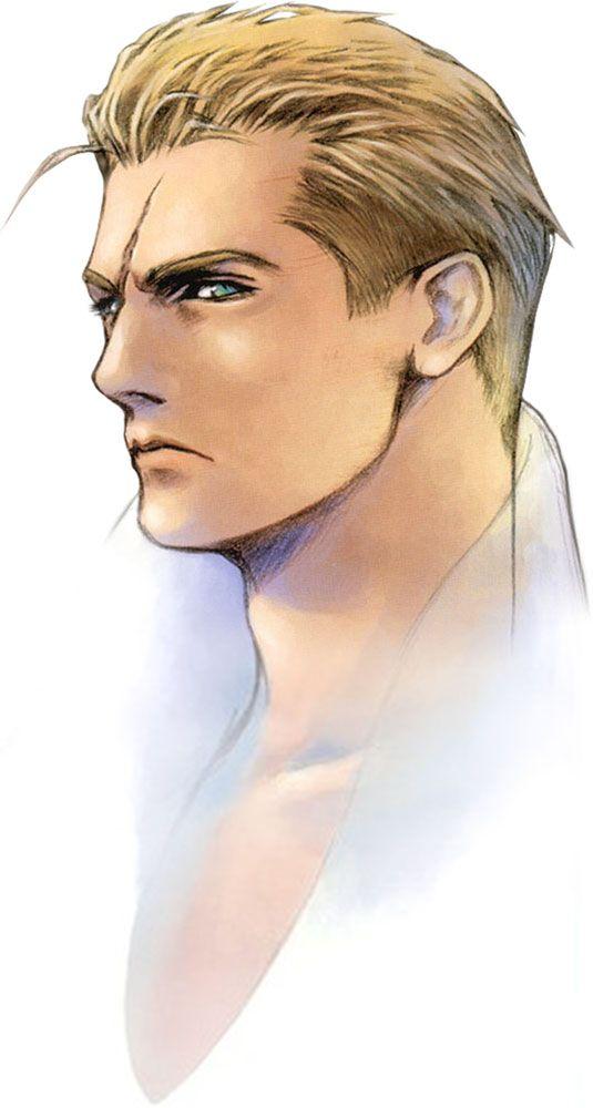 Week 8 - Final Fantasy VIII - Concept Art Mon - Seifer