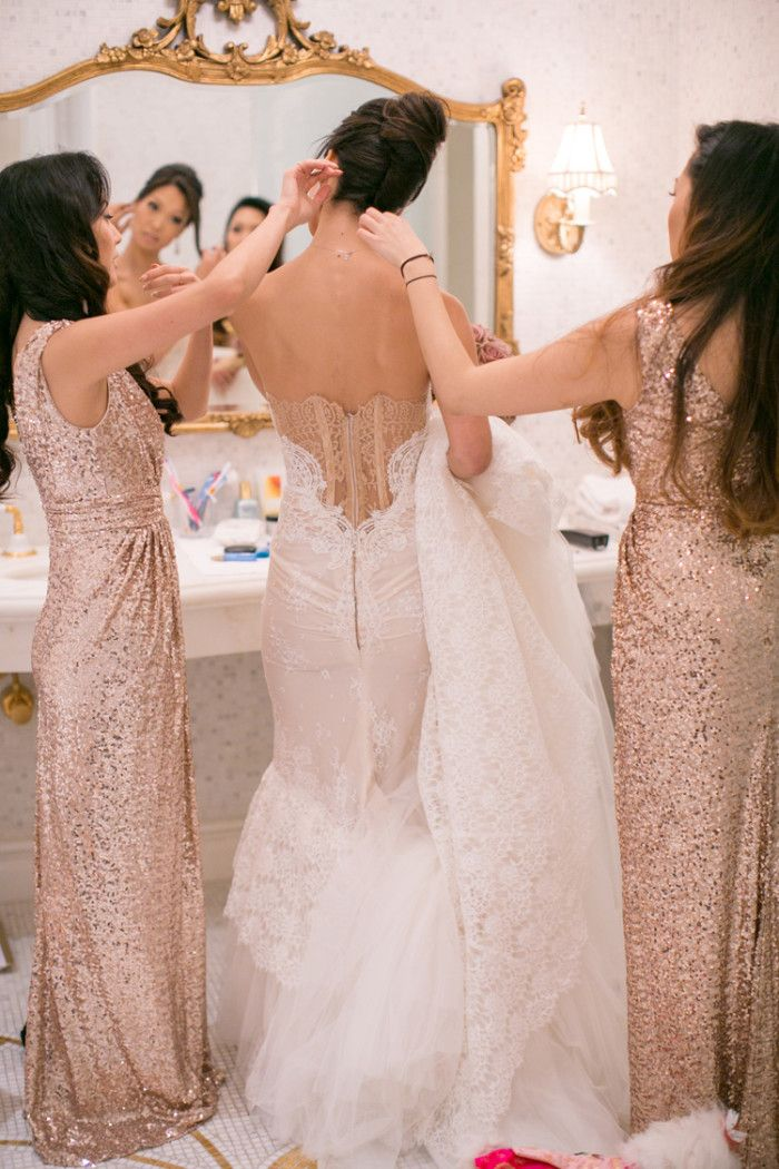 1000+ ideas about Sparkly Bridesmaids on Pinterest | Gold ...