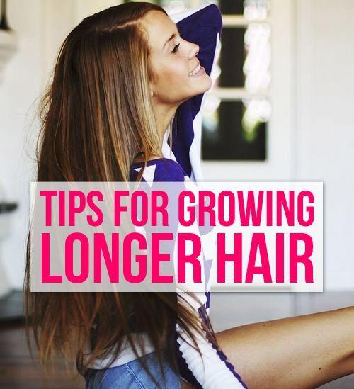 Tips for Growing Longer Hair