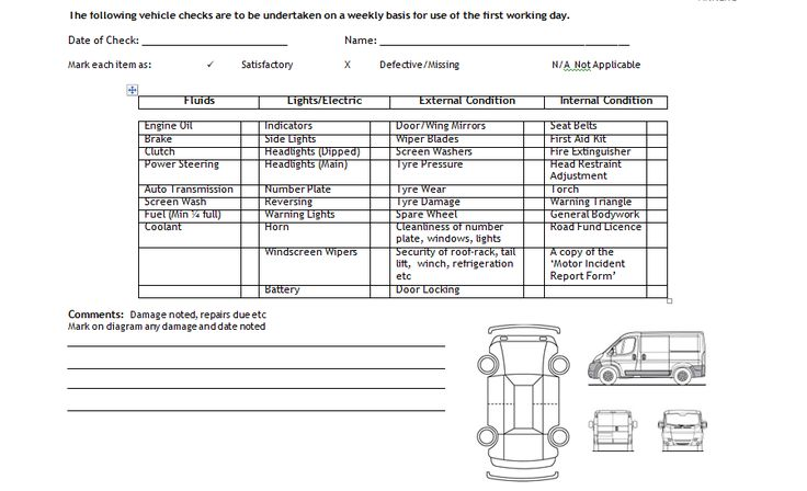 Vehicle Log Book Format Excel And Word http\/\/exceltmp\/vehicle - hazard analysis template