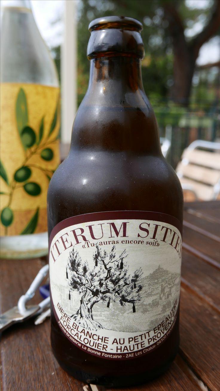 Iterum Sities, bière blanche au petit épeautre, Forcalquier, Haute-Provence, France