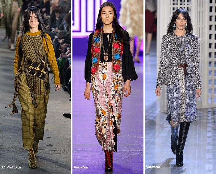 New York Fashion Week Fall 2016 Fashion Trends: Mixing Prints  #trends #fashiontrends