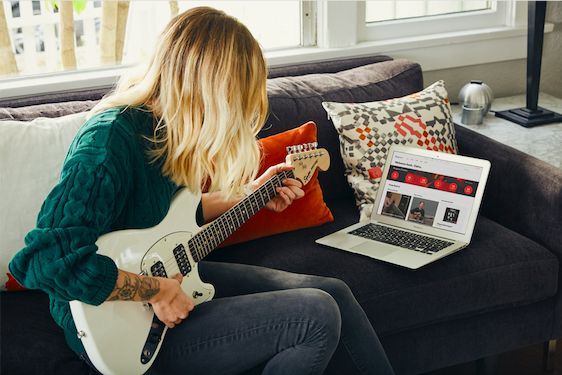 Announcing Fender Play — online lessons, only from Fender. Our guided curriculum allows you to learn hundreds of songs that teach the skills and techniques needed to play guitar.  Share this with someone you think should learn to play guitar. #FenderPlay #Fender #Practice #Music #Musician #Guitar #Guitars #Guitarist #GuitarPlayer #Love #Learn #Learning #iPhone #NowPlaying