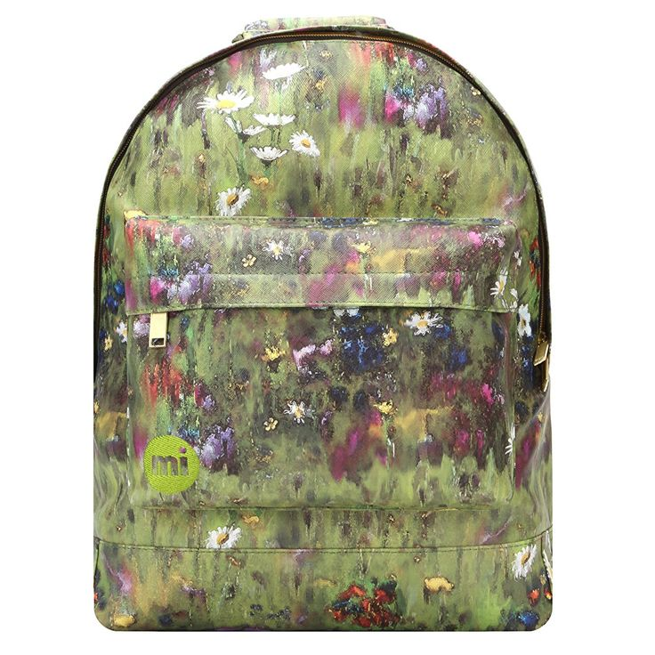 Mi-Pac Gold Backpack Meadowbank Green Multi