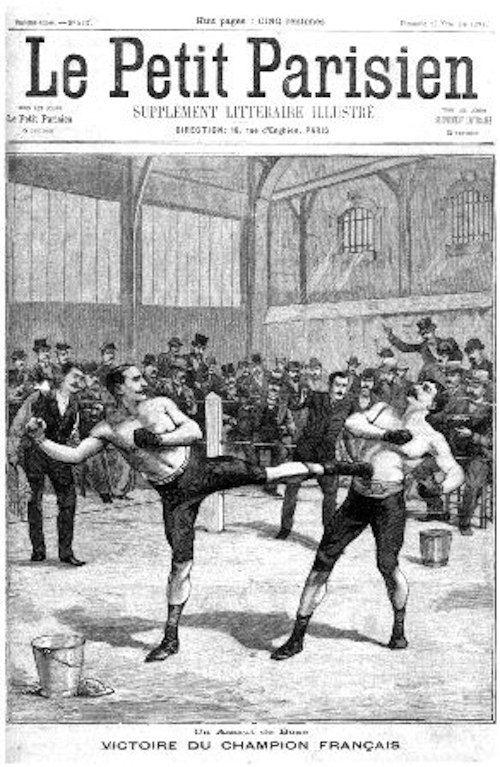 Savate Boxing Club Dunkerque - Présentation des disciplines - Des origines de la savate...