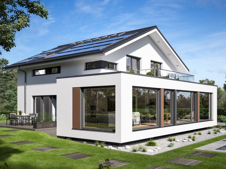 Concept-M 210 - Bien Zenker ➤ Fertighaus mit Satteldach ✔︎ Bilder ✔︎ Grundrisse ✔︎ Preise jetzt ansehen auf HausbauDirekt.de