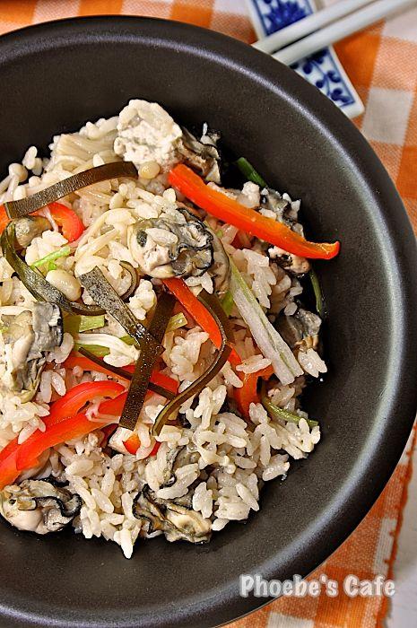 일식 굴밥, 가끼메시 레시피, 일본 요리,