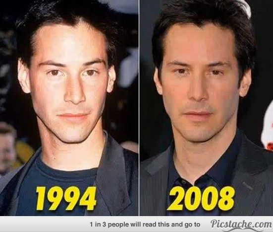 Keanu Reeves -Damn he still looks good!
