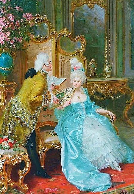 91 mejores im genes de rococo period art en pinterest for Rococo period paintings