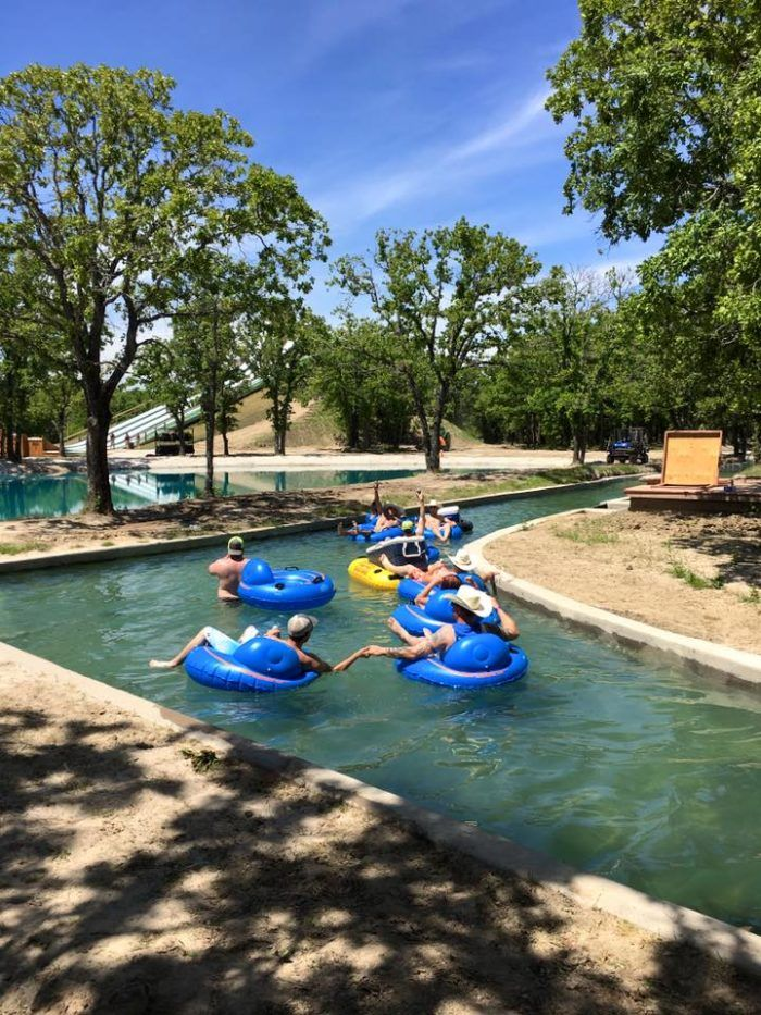The experience may not differ much from other lazy rivers...