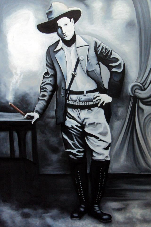 Sandino. Oil on canvas 1.70*1.50 cm
