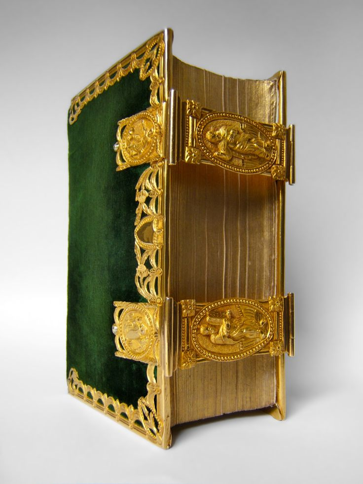 Dutch Bible with golden clasps and mounts - 18th century