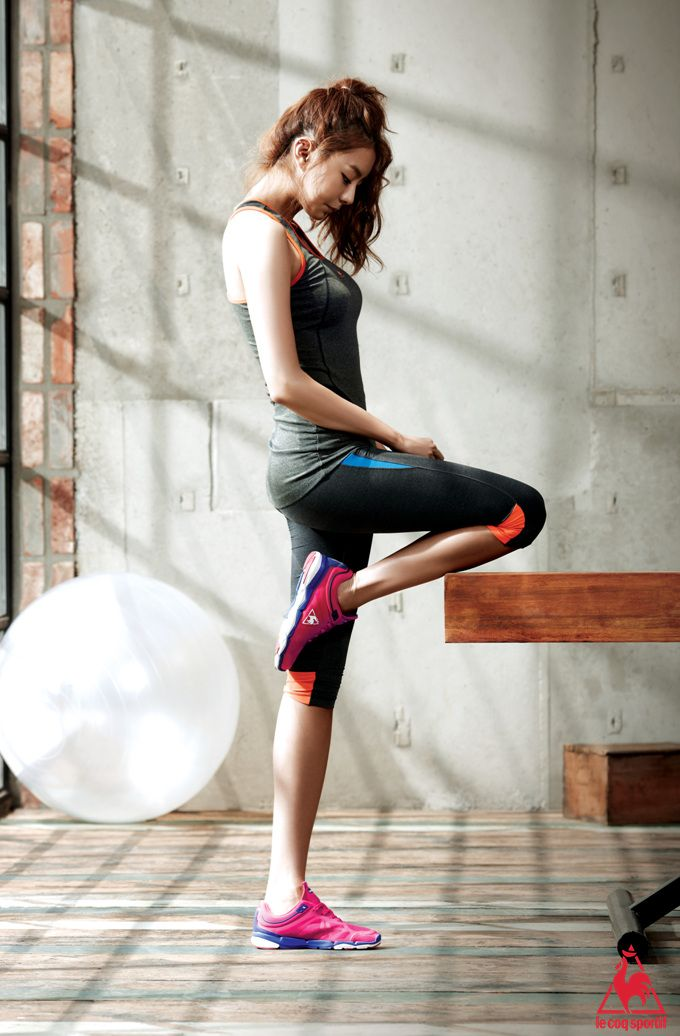 After School's UEE for 'Le Coq Sportif' | Fitspiration ...
