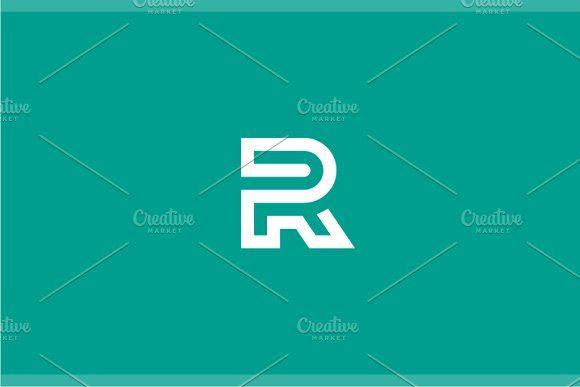 Reverse - Letter R Logo by yopie on @creativemarket