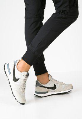 Nike Sportswear INTERNATIONALIST - Sneaker low - light bone/black/cool grey - Zalando.de