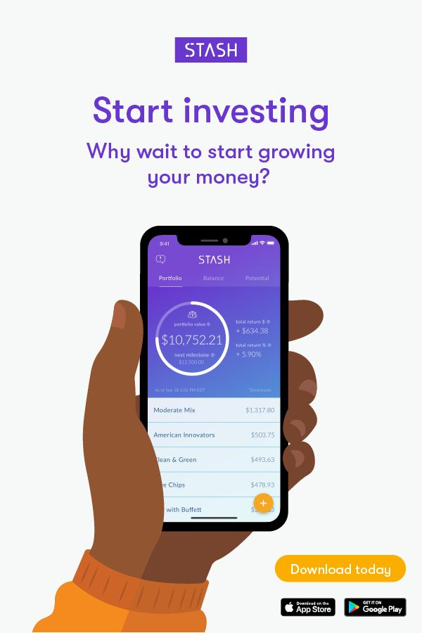 Stash - Invest. Learn. Save.
