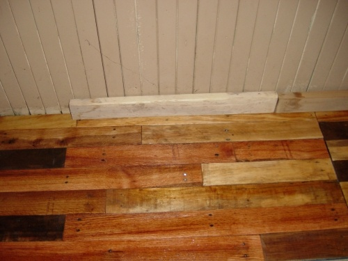 53 Best Pallet Flooring Images On Pinterest Pallet Ideas