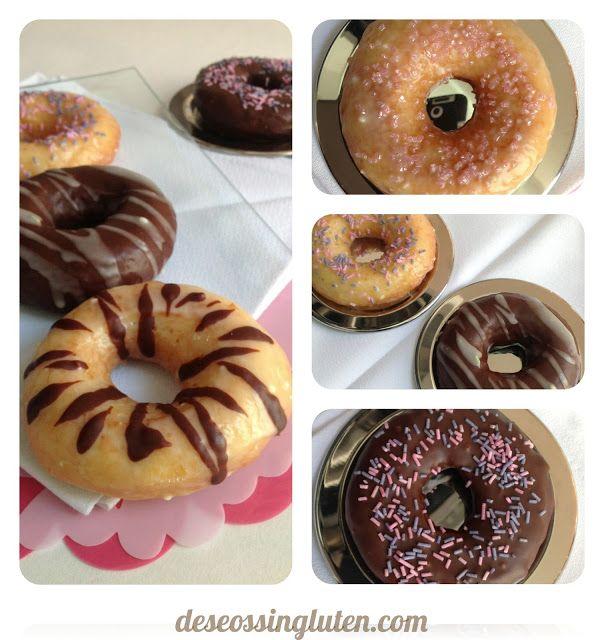 Deseos Sin Gluten: DONUTS SIN GLUTEN