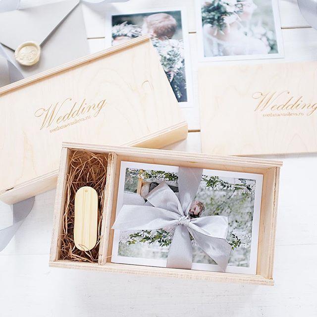 Короб для флешки и фото 10х15 #упаковкафото #деревянныекоробки #usbbox #photobox #korabook