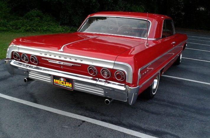 1964 Chevrolet Impala S39 Des Moines 2012 Chevrolet Impala