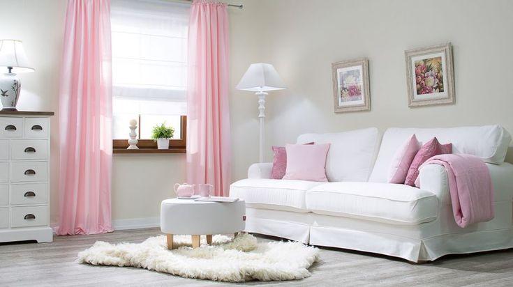 Dekoria,+Salon+w+pastelowym+różu