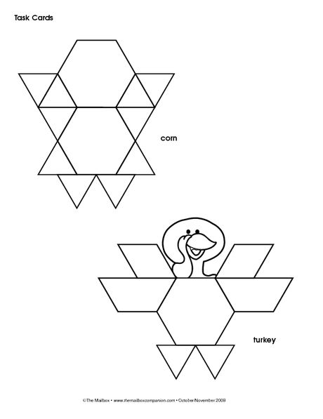 Best Pattern Blocks Images On   Preschool