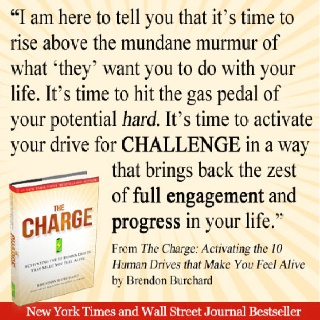 I want to earn a trip to USA, please like this picture ;-): Worth Reading, Brendonburchard, Books Worth, Http Www Thechargebook Com, Brendon Burchard, Great Books, Inspiration Quotes, Dreams Coming True, New Books