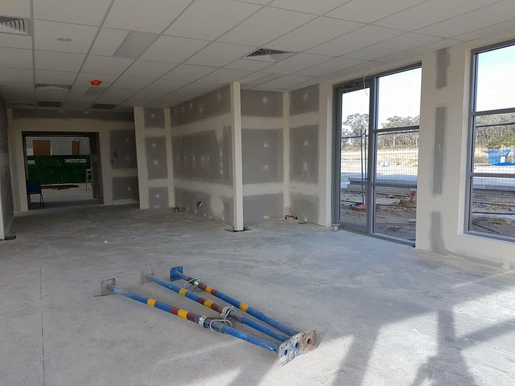 And so the fun begins! Our new show room is starting to take shape, painting starts today.