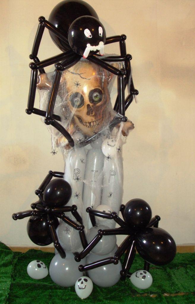 one of the scariest halloween balloon decorations ive seen so far - Halloween Balloon Animals