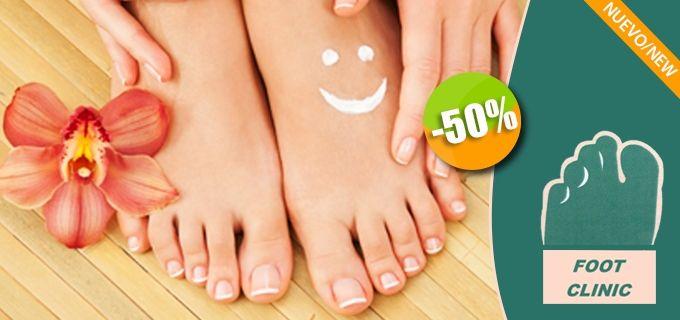 Foot Clinic de la Podóloga Paty Villanueva - $150 en lugar de $300 por 1 Pedicure Clínico. Click: CupoCity.com