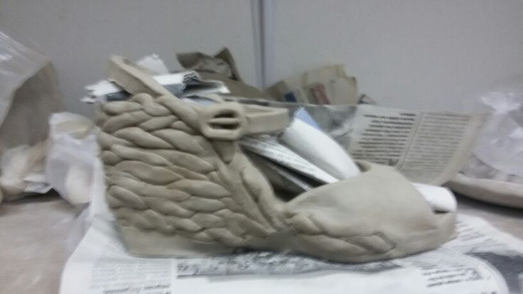 #ceramic #shoe #pottery #art