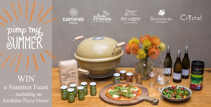 Pesto Princess is launching spicy Harissa, Chermoula & Chimichurri pastes and relishes! To celebrate they're giving away an Earthfire pizza oven and other cool stuff. Enter with me!