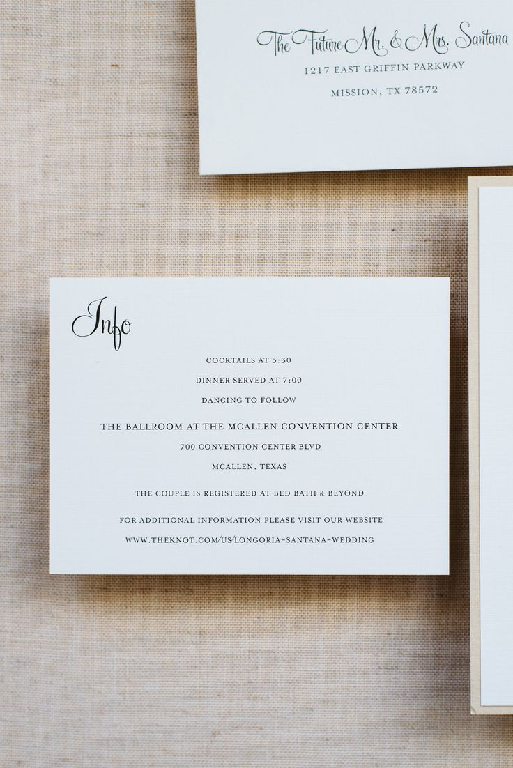 champagne blush wedding invitations%0A Simple Wedding Invitation www invitedbylamaworks com