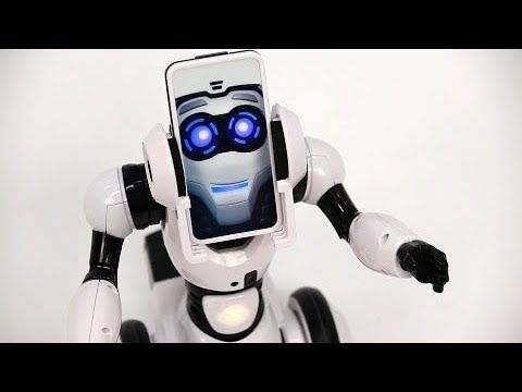 Reviewing Robo Me by Wowee - YouTube