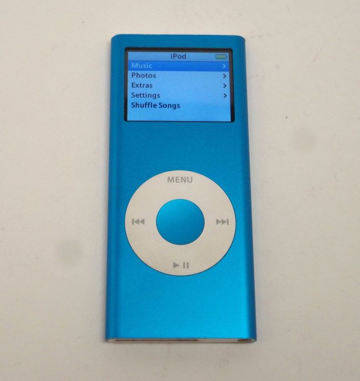 Apple iPod Nano 2nd Generation Blue 4GB Model A1199 #Apple http://stores.ebay.com/price-less-finds/Vintage-Collectible-/_i.html?_fsub=10901744017